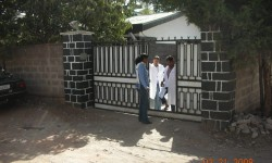 1 entrada a la casa