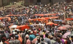 Mercado en Hossana