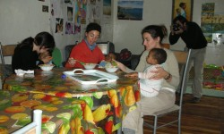 papillas con Carmen, Rosario y Gema