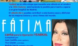 FATIMA ofrece un concierto a beneficio de Cielo133