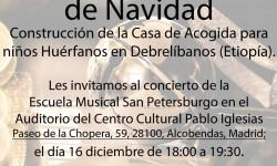 Concierto Solidario de la Escuela de Música de San Petersburgo
