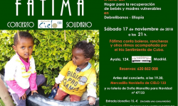 Concierto solidarios de Fátima a favor de Cielo 133