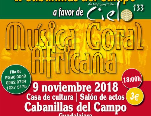 Concierto Coral de la Escuela de Música de Cavanillas a favor de Cielo 133
