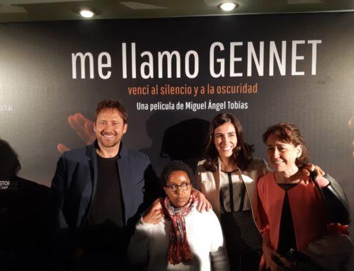 Preestreno de «Me llamo Gennet», la película solidaria del año.